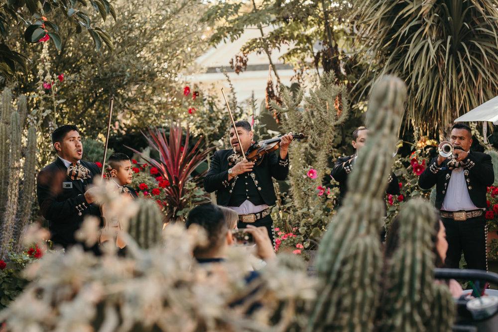 Jardines Wedding Reception