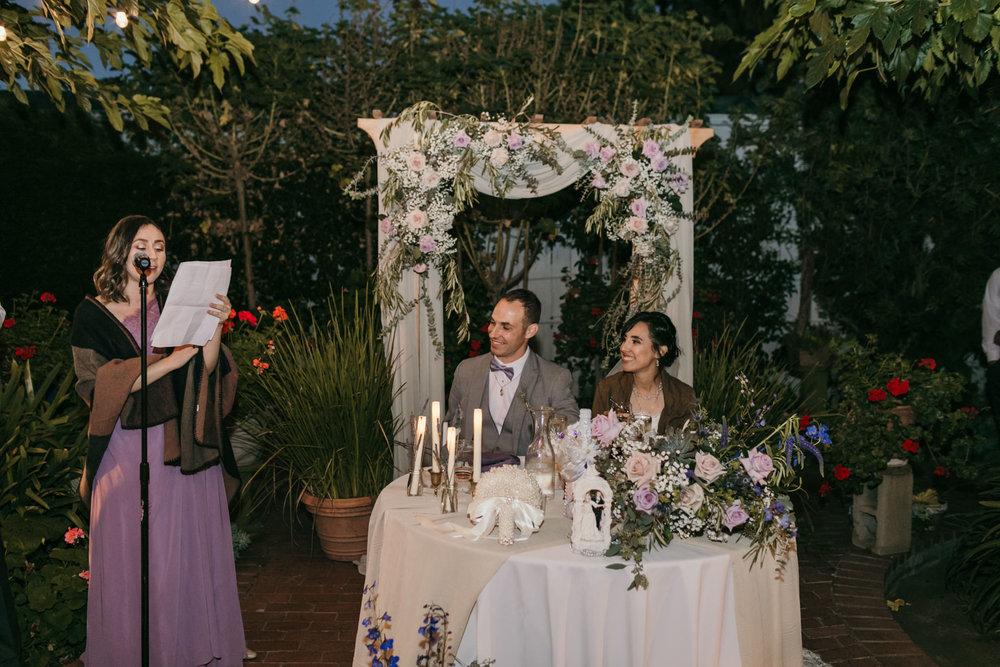 Jardines Outdoor Garden Wedding Reception