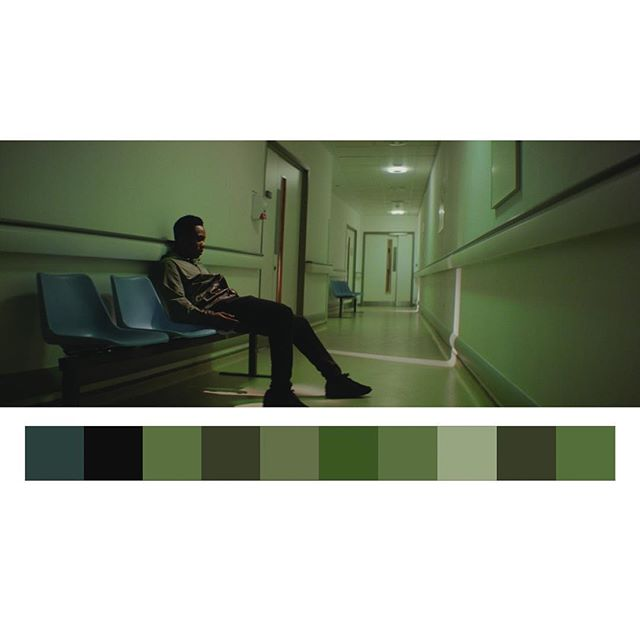 ✅ @robbiejbryant @jasoncolourist #cinematography #colorpalette #colorist #walefilm #shortfilm