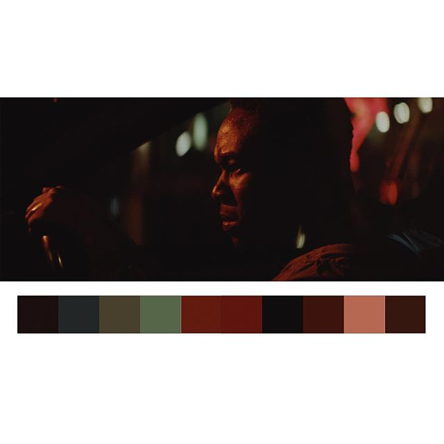 🎥@robbiejbryant 🎨 @jasoncolourist. 👊🏽👊🏽👊🏽 #cinematography #colorpalette #colorist #walefilm #shortfilm