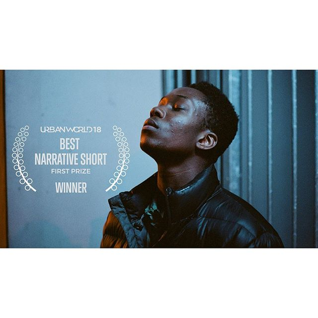 A couple of weeks ago our little film was screened at @urbanworldfilmfest in NYC joining the likes of master filmmakers including @ava and #stevemcqueen . We discovered afterwards that Wale had won the Best Narrative Short prize, another Oscar-qualifying award. It really means so much to all of us who worked on the film that it is connecting with audiences far and wide. Thanks to Urbanworld for hosting us and to you all again for your support! #urbanworldfilmfestival #shortfilm #oscars #oscars2019 #nycfilm #londonfilm #walefilm @hbo