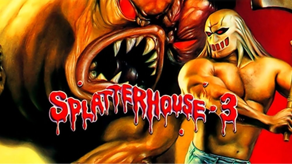 splatterhouse 2 (1992) dead as hell horror podcast  at fashall.co