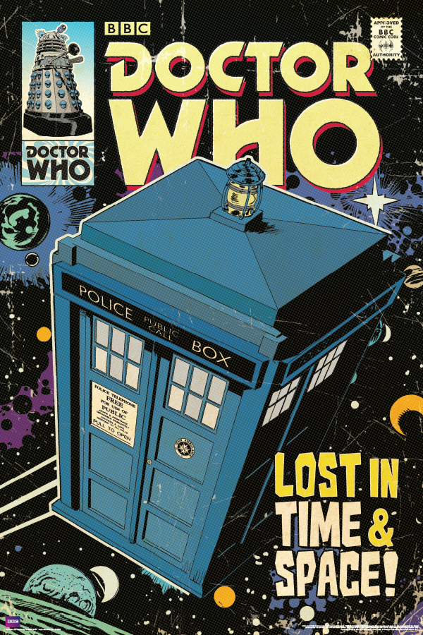ST5605 DR WHO - Tardis Comic Cover.jpg