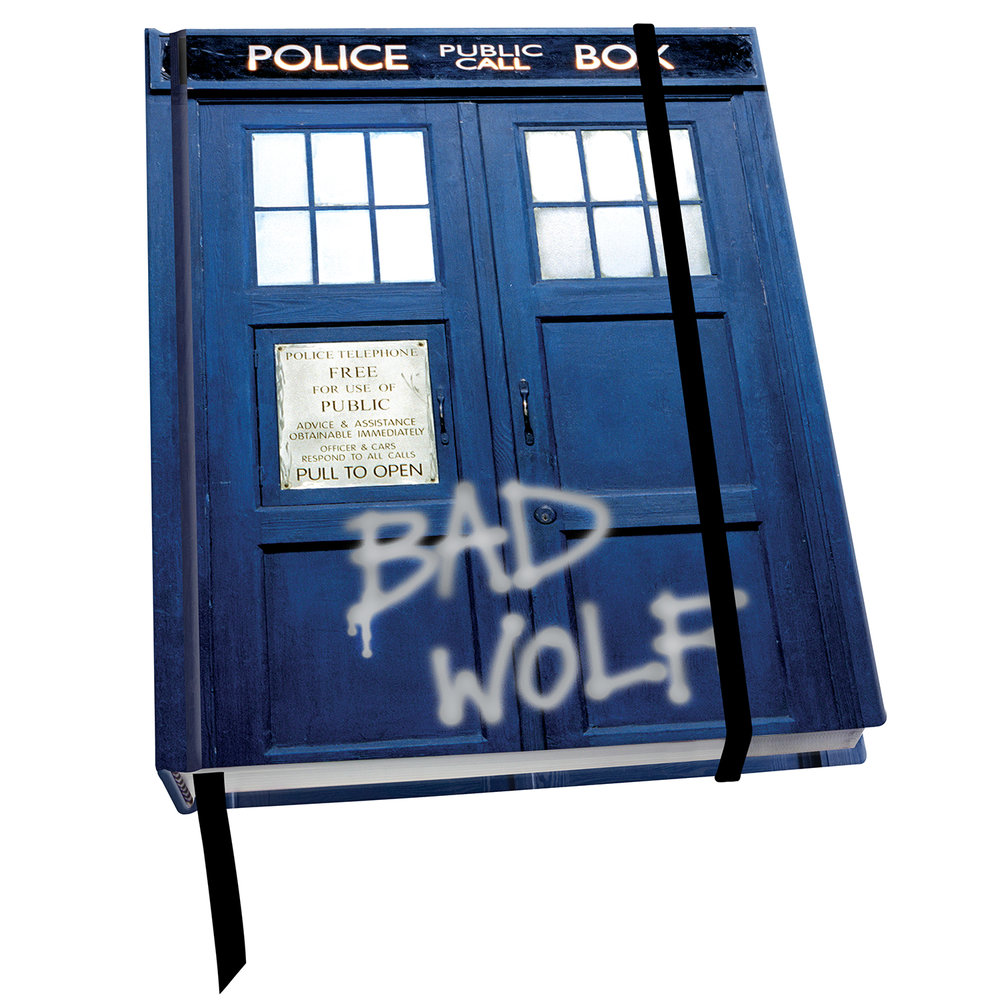 JN069 DR WHO - The TARDIS BAD WOLF.jpg