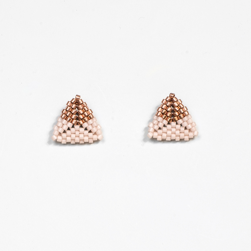 The Rosa - Soft Pink and Copper | Dipped
