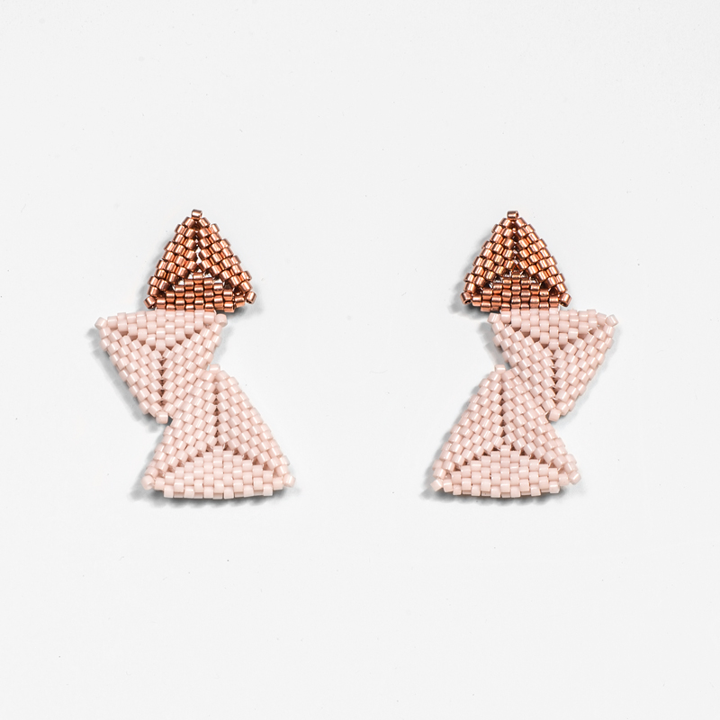 The Shea - Soft Pink and Copper | Cap