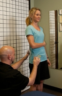 Postural assessment is part of every session that we do.