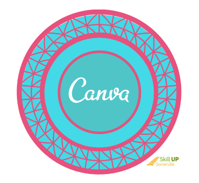 Our latest Canva badge. Offered by our community partners at Somerville Media Center. Read more about the creditenials here!
