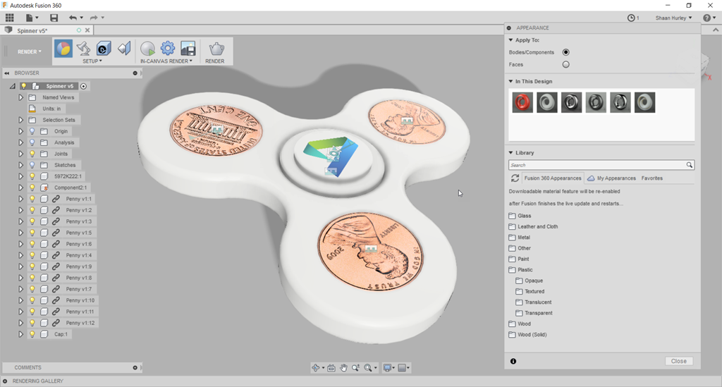Intro to 3D printing: Design with Fusion360 — Fabville