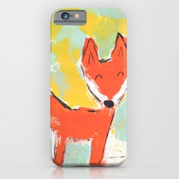 Bright and Happy Fox Case