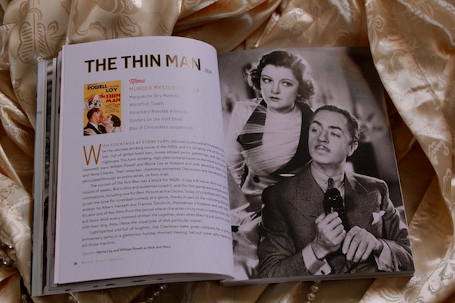 The Thin Man Menu for TCM