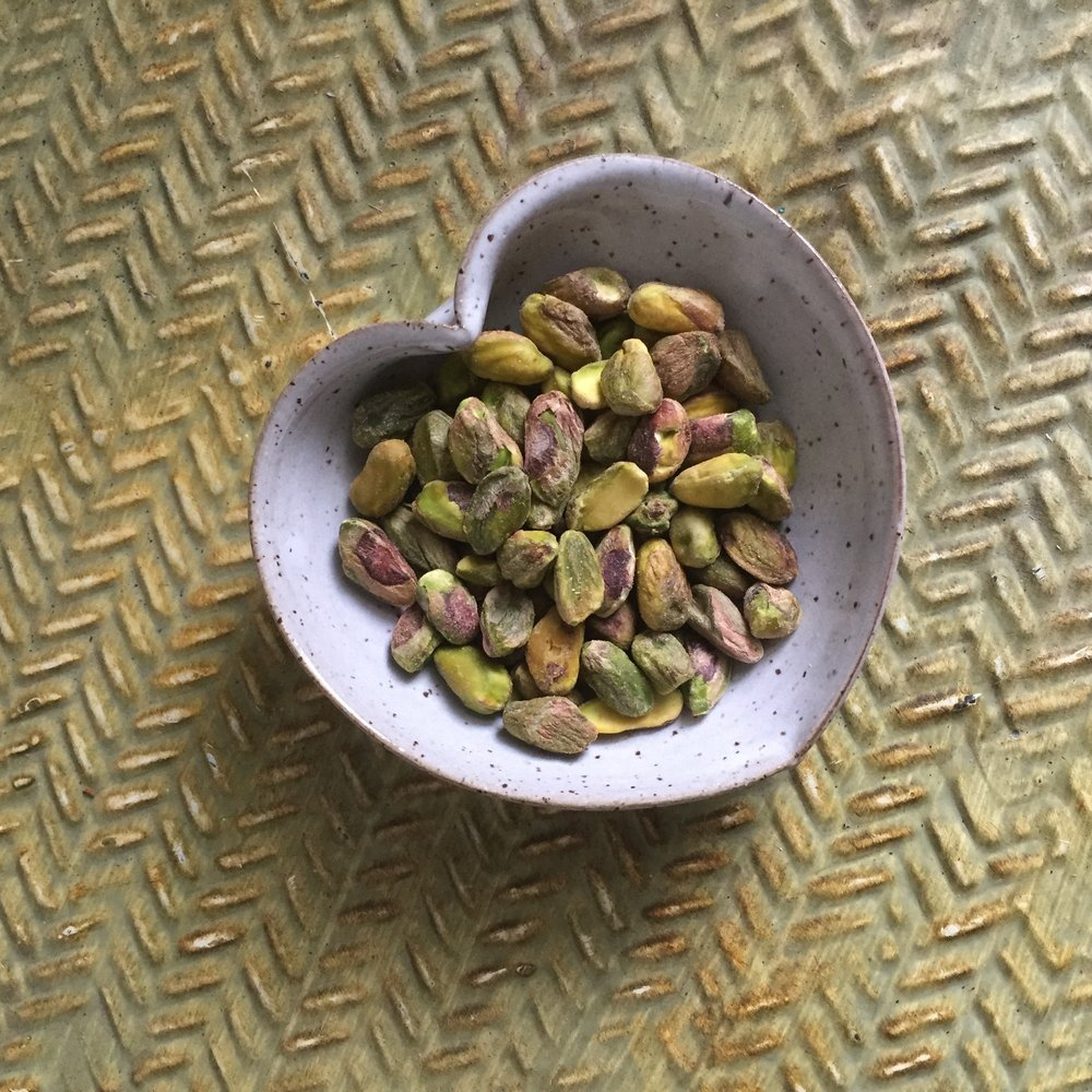 JD Wolfe Heart Bowl with Pistachios