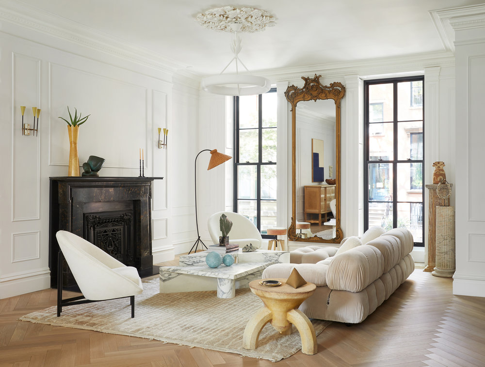 ARCH DIGEST: HOW THIS STUNNING BROOKLYN TOWNHOUSE BECAME A FOREVER FAMILY HOME