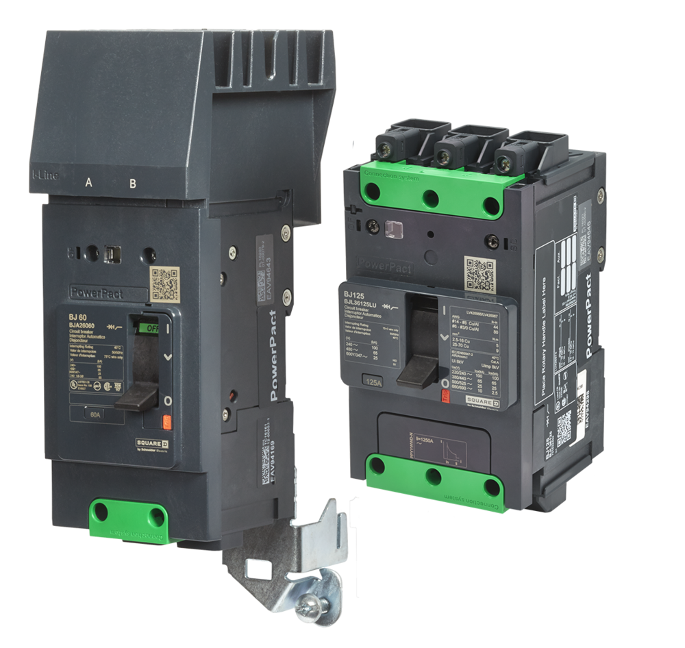 PowerPact B Circuit Breakers