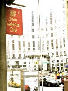 Juan Valedez Cafe on 57th & Lex. Photo by Kara Bettis.