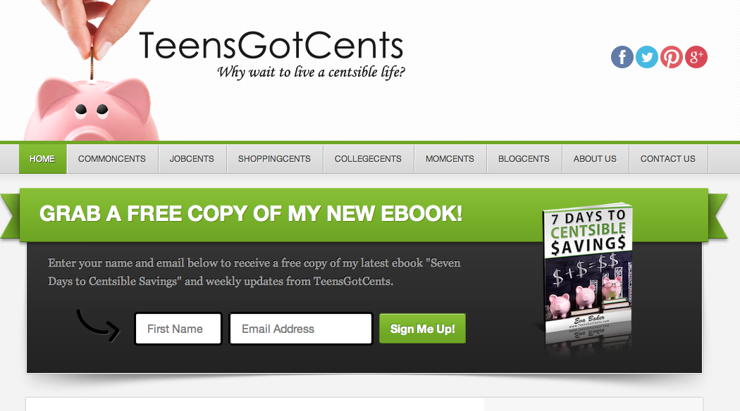 TeensGotCents.com