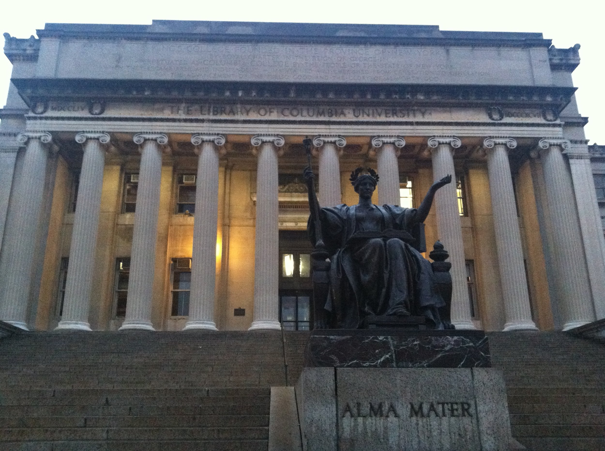 Columbia University Library. Photo by Cori O'Connor.