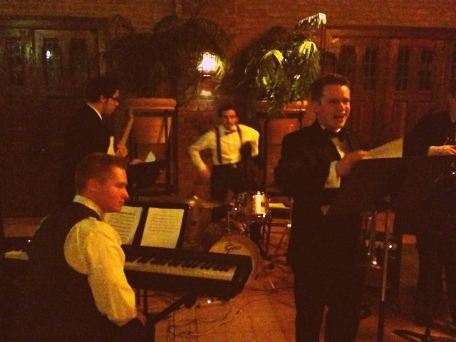 TKC Jazz Combo at Spring Formal. photo credit Stephen Berry.