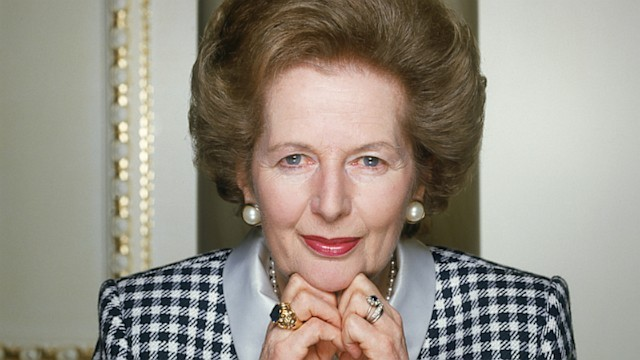 English Prime Minister: Margaret Thatcher. Photo by: abcnews.com
