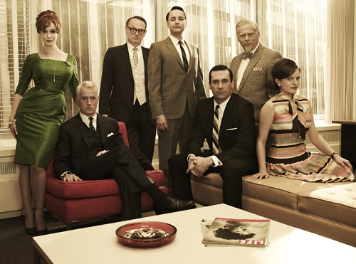 Mad Men. Photo credit Wikipedia.