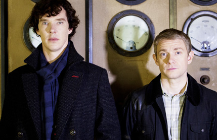 Sherlock. Photo from PBS.org.