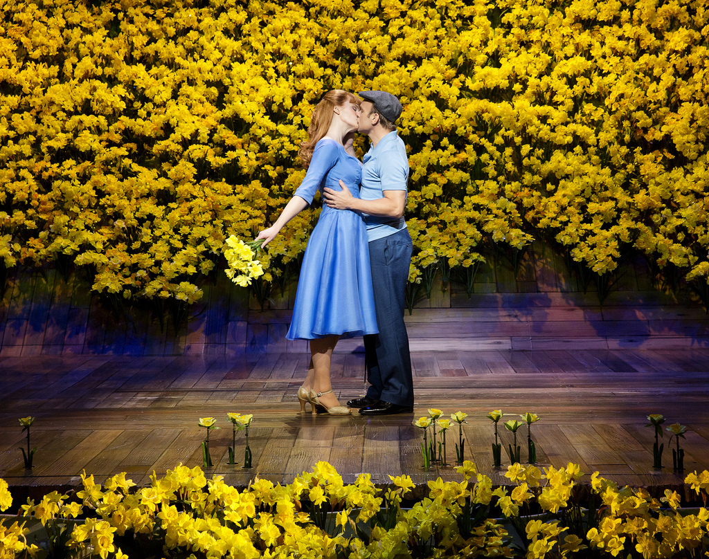 Got this picture from bigfishthemusical.com's gallery, not sure if we can use it or not. Features Kate Baldwin and Norbert Leo Butz.