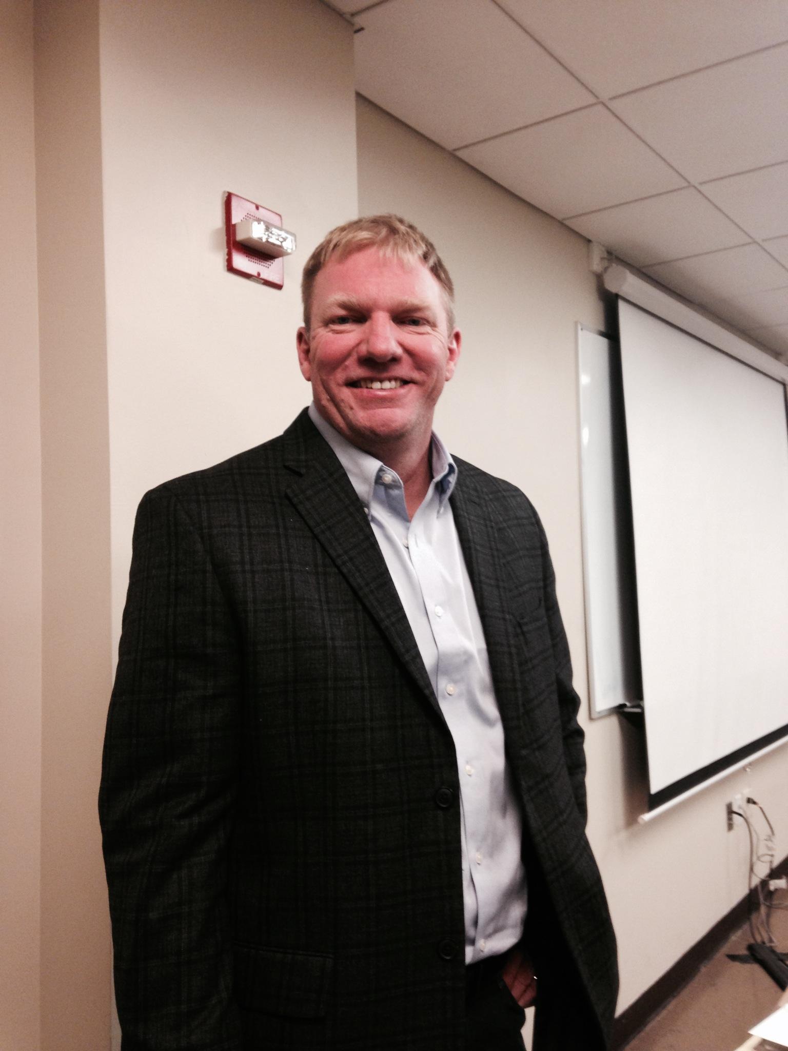 Co-executive producer Jason Jones. Photo taken by Megan Palmer.