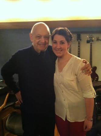 Charles Strouse and Chelsea-Dagmar Wetherill. Photo by Virginia Pike.