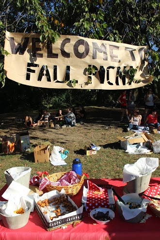 The King's College student body gathered in Prospect Park Saturday to enjoy Fall Picnic.