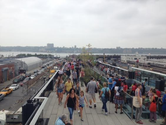 The third and final phase of the High Line park opened Saturday, Sept. 20. The new section features a play area for children, sculptures by local artists and an incredible view of the City.