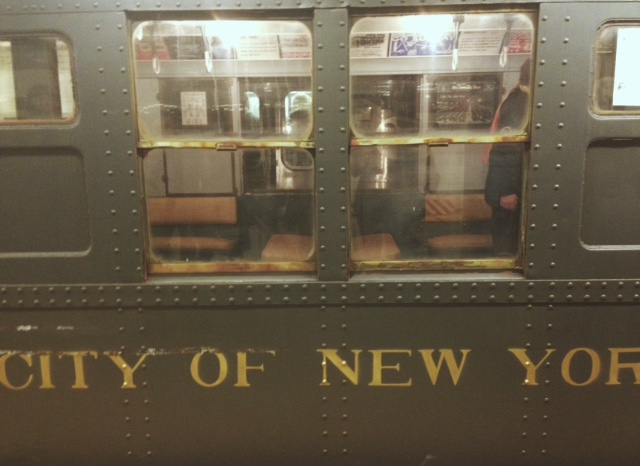 An old MTA train car. Photo by Hannah Grubb.