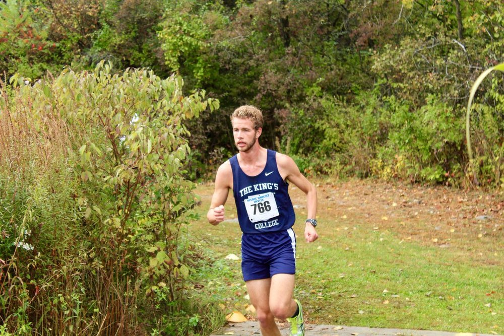 Cross Country captain Micah Paulec | Photo from TKC Athletics