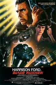 Movie poster for  Blade Runner,  1982.
