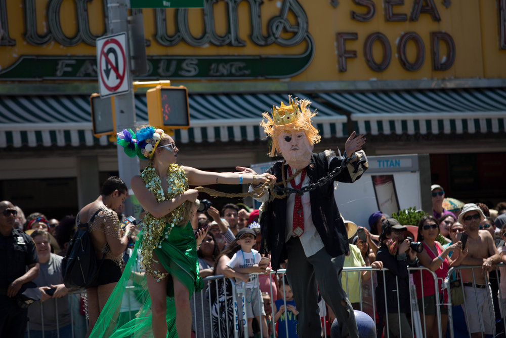 The 36th Annual Mermaid Parade was held in Coney Island on June 16, 2018. || All photos by Wes Parnell.
