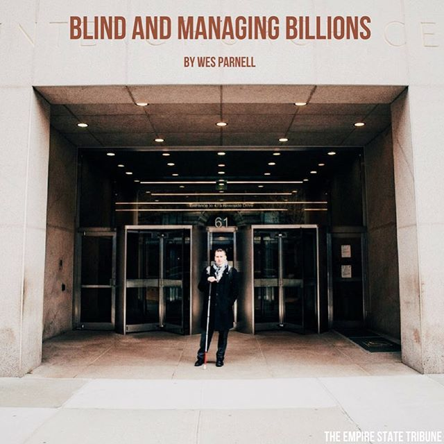 The countdown to NSO continues! Check out the article written by Wes Parnell, Blind and Managing Billions, written over the summer