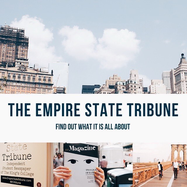 Interested in writing for The Empire State Tribune? Want to know what we do? We will be at the Student Org fair on Monday at The King's College! Stop by, get your photo taken and grab some journalism goodies!