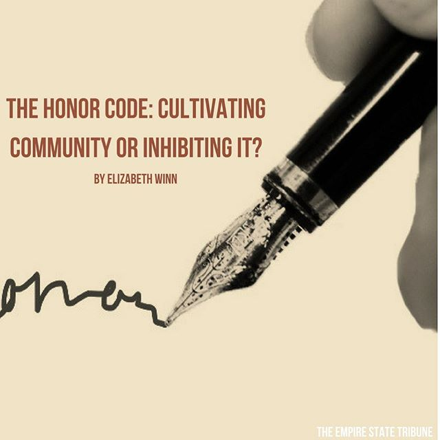 Is the Honor Code actually serving the King's community? Contributor Elizabeth Winn's article, The Honor Code: Cultivating Community or Inhibiting It? is now on our website! || Image by Bernadette Berdychowski