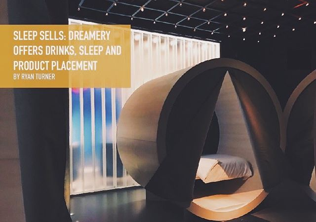 Have you ever wanted to just take a nap in the middle of a hectic day while you're out and about?  Now you can! The Dreamery offers futuristic nap pods for a price. Check out Ryan Turner's article on the website!