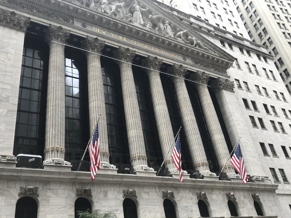 New York Stock Exchange on the corner of Broad Street and Wall Street. || Picture Credits: Samantha Kelly