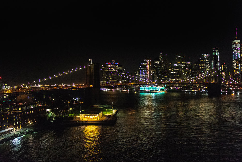 The East River from Manhattan Bridge. || Photo credit to Brent Buterbaugh.
