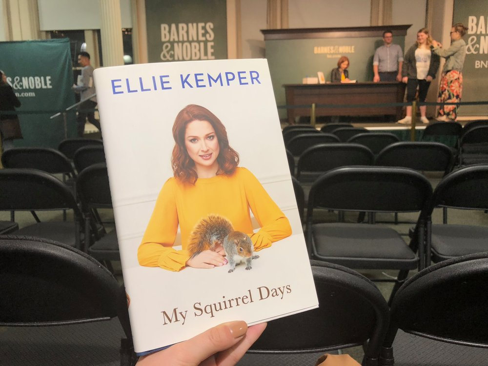 Ellie Kemper at Barnes and Noble in Union Square. || Photo credit to Lauren Bannister
