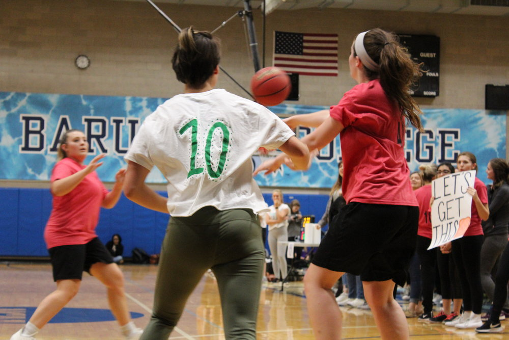 House of Clara Barton plays against House of Corrie ten Boom for the competition finals. || Photo credit: Libby Winn