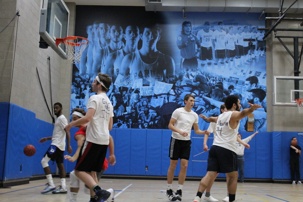 House of Churchill playing basketball. || Photo credit: Libby Winn