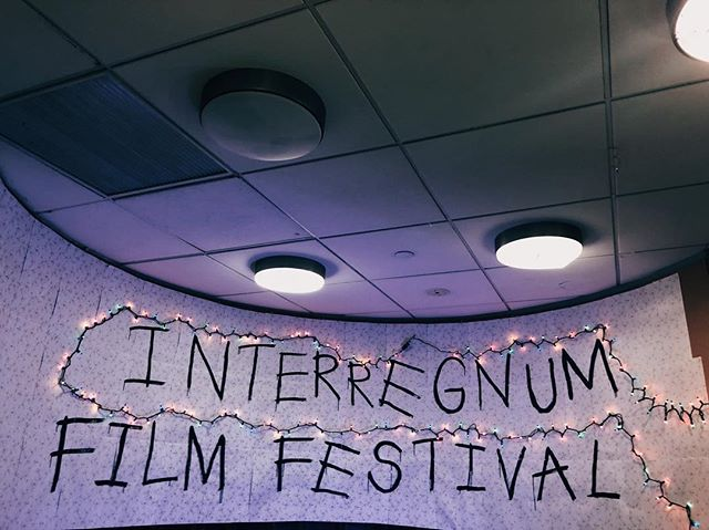 Interregnum Film Festival Competition starts tonight and students will spend 12 hours filming and editing! Tomorrow we will see the finished products.