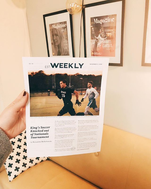 Don't forget to grab your weekly put together each week by our EST Weekly editor @jilliancheney