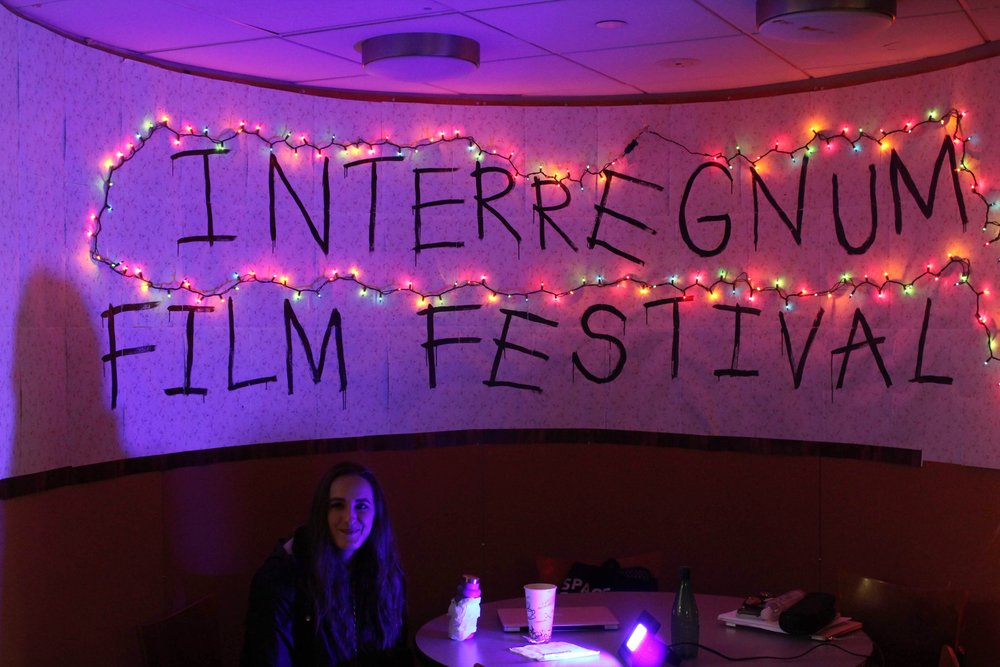 Interregnum Film Festival Fishbowl at The King's College. || Photo credit to Jolie Richardson