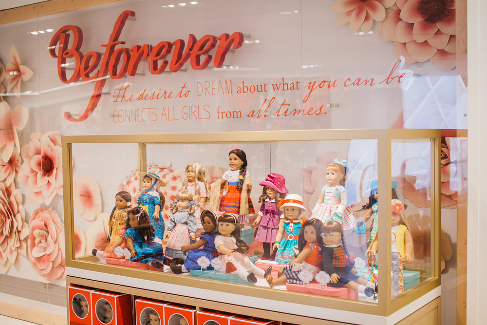The American Girl Historical Doll Collection, launched by Rowland and Tripp. || Photo credit to Eli Esher
