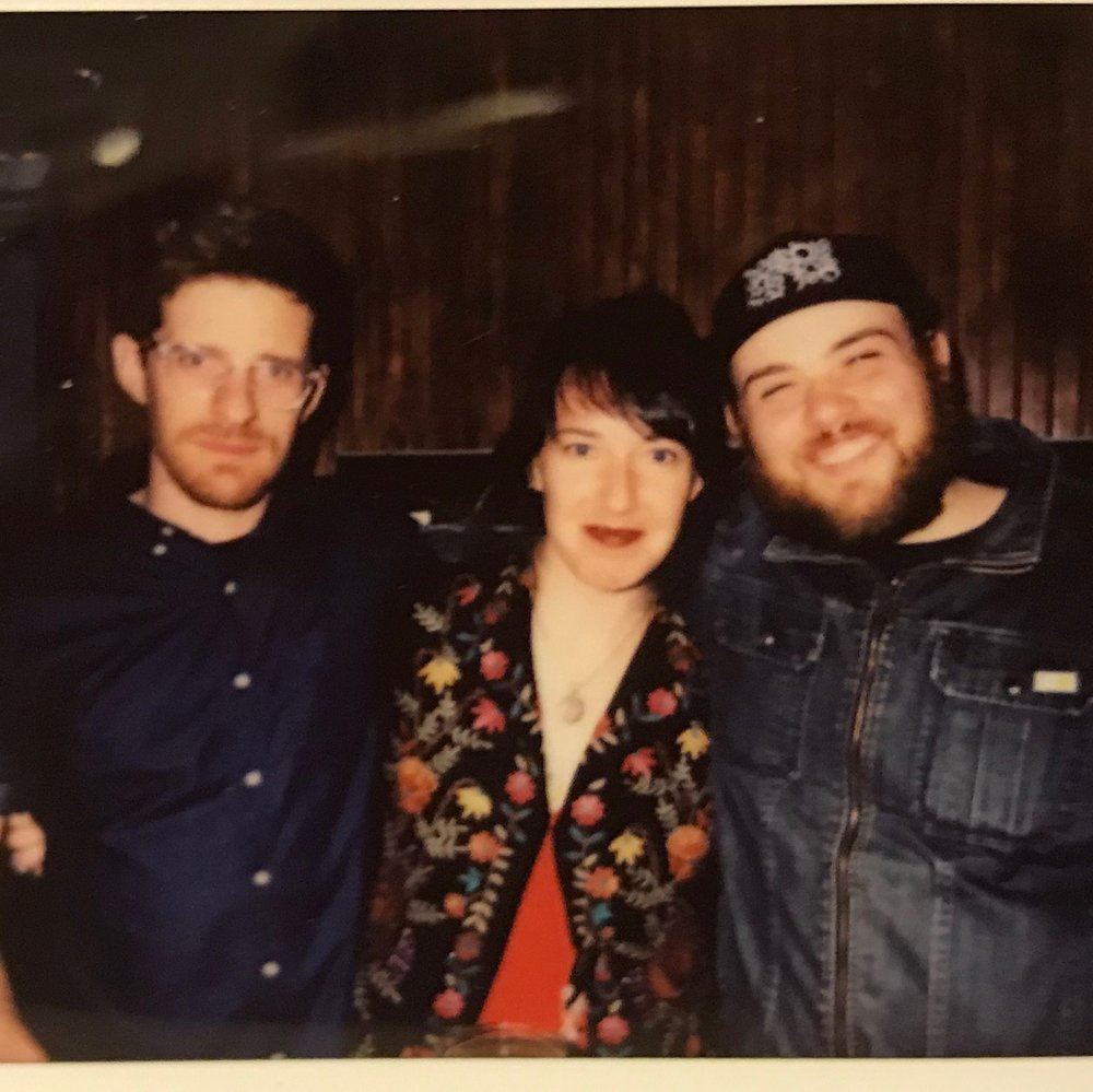 Alex Thrailkill, Rebecca Kushner, and Richard Aufrichtig at C'mon Everybody, 2018