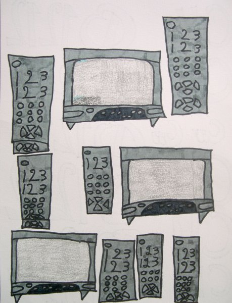 T.V. and Remotes