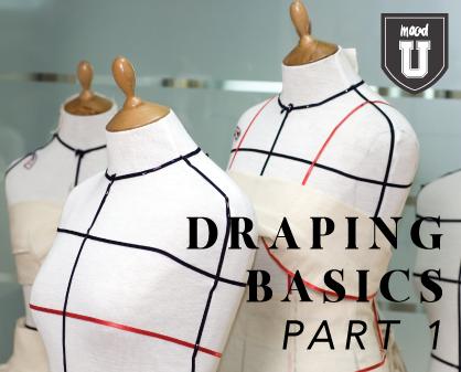 Draping Basics Part 1